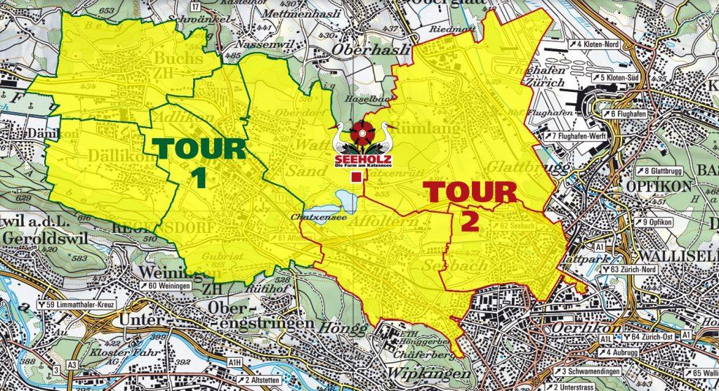 Samstags-Touren 1 und 2
